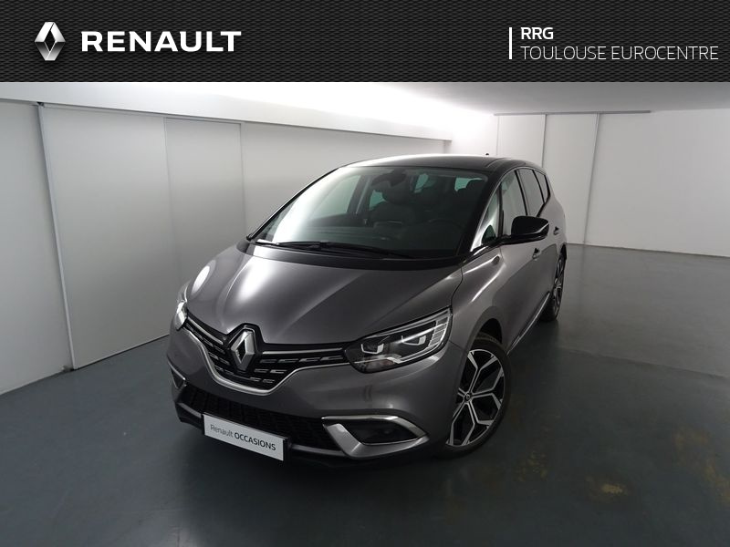 RENAULT GRAND SCENIC BLUE DCI 120   21 INTENS – Gris – 10km – 25500€